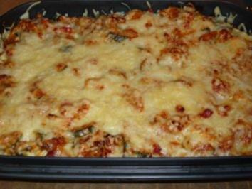 Reste-Tortellini-Gemüse-Auflauf - Rezept