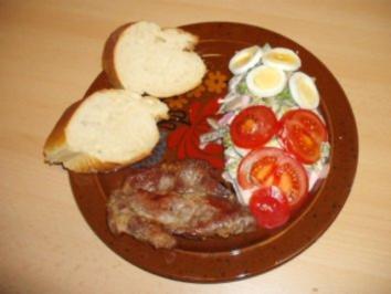 Mary's  Bunter Salat mit Schweinehals - Rezept