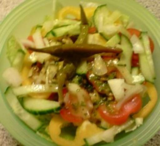 Gemischter Salat - Rezept