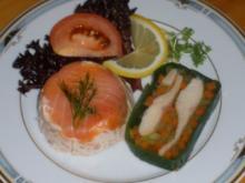 Fisch - Lachsterrinchen - Rezept
