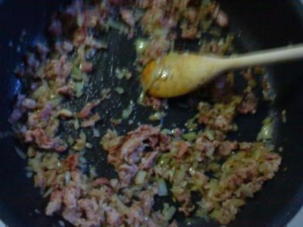 Zander mit Krabben-Schinken-Soße - Rezept - Bild Nr. 5