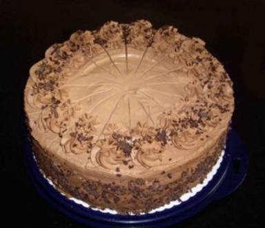 Schokosahne - Torte - Rezept