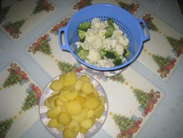 Kartoffel- Blumenkohl- Broccoli- Auflauf - Rezept - Bild Nr. 3