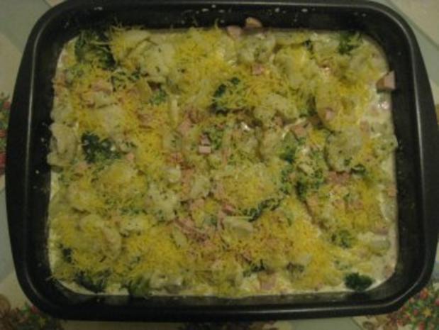 Kartoffel- Blumenkohl- Broccoli- Auflauf - Rezept - Bild Nr. 4