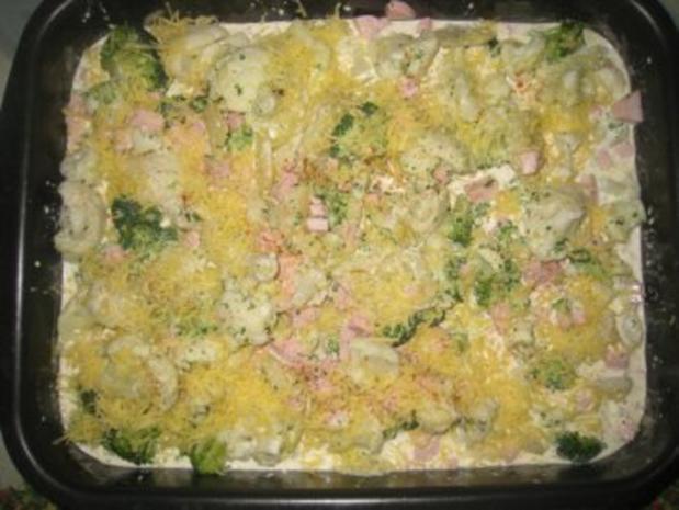 Kartoffel- Blumenkohl- Broccoli- Auflauf - Rezept - Bild Nr. 5