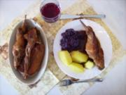 Kaninchenbraten - Rezept