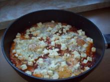 Huevos Rancheros - Eier-Tomaten-Pfanne - Rezept