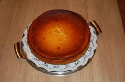 warmer Käsekuchen nach Omas Art - Rezept