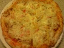 Pizza tonno - Rezept