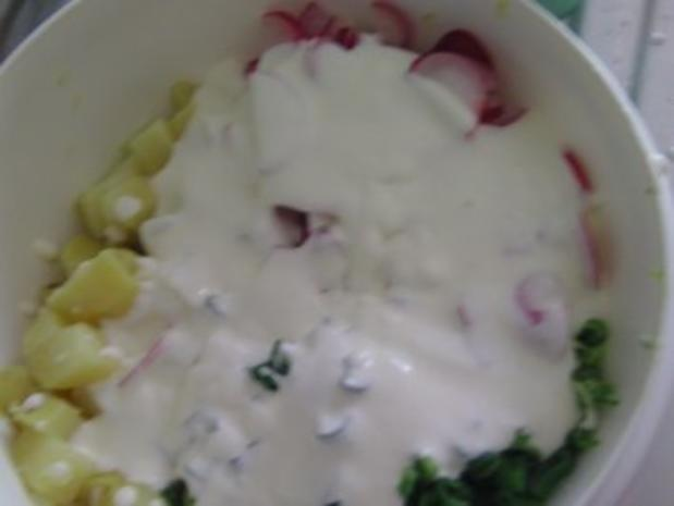 Kartoffel-Radieschen-Salat - Rezept - Bild Nr. 3