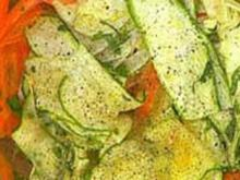 Marinierter Gemüsesalat - Rezept