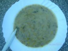 Lauch - Käse Suppe - Rezept