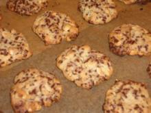 Erdnuß-Cookies - Rezept