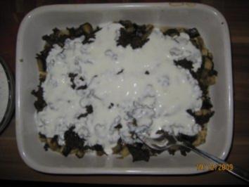 Oriental. Vorspeisen (3): Auberginen mit Hackfleisch - Rezept