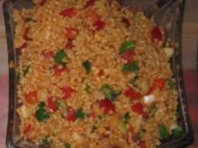 Oriental. Vorspeisen (4): Bulgursalat - Rezept