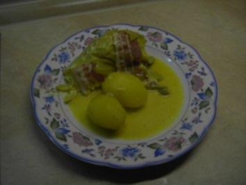 Hackfleisch - Spitzkohl-Hackfleisch-Röllchen - Rezept