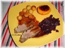 Geflügelgericht - Entenbrust mit Balsamico und Rotwein - Rezept