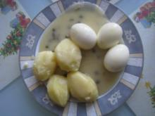 Süß - Saure- Eier - Rezept