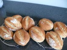 Frühstücksbrötchen mit Schnitt - Rezept