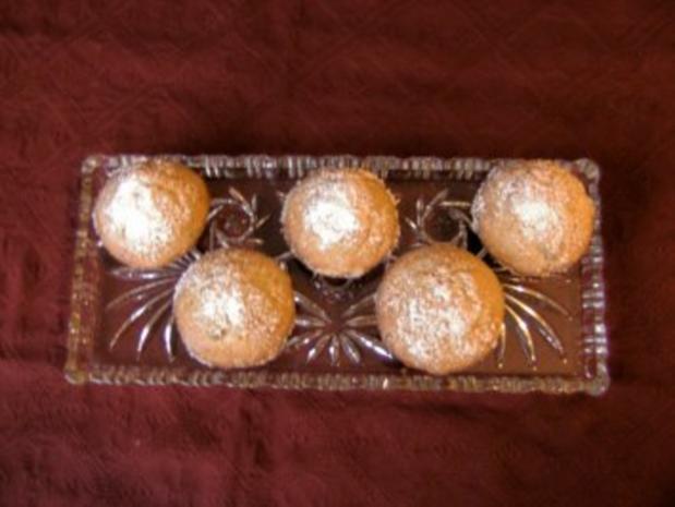 Stollen - Muffins - Rezept