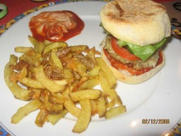 Vegetarischer Burger, Veggie-Burger - Rezept