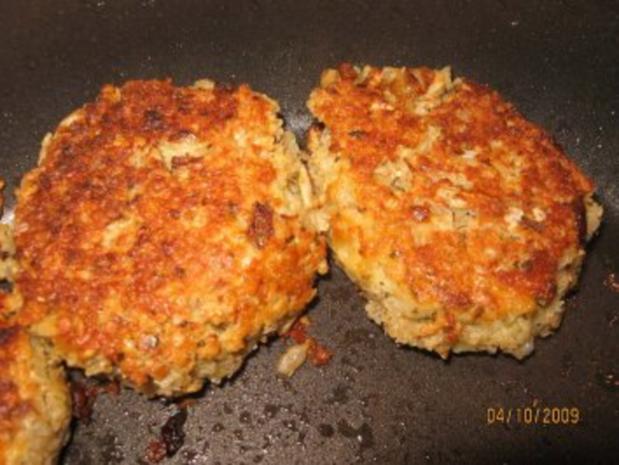 Vegetarischer Burger, Veggie-Burger - Rezept - Bild Nr. 2