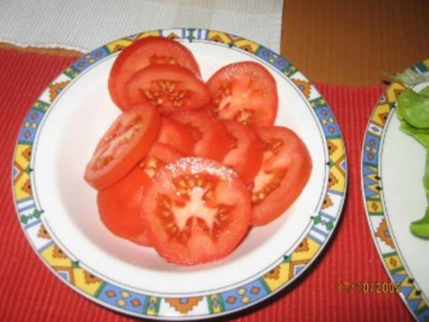Vegetarischer Burger, Veggie-Burger - Rezept - Bild Nr. 5