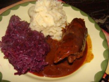 Rezept: Fleisch - Meine Rinderrouladen -