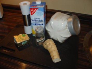 Meerrettichsauce - Rezept