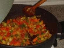 Reis-Gemüse-Pfanne - Rezept