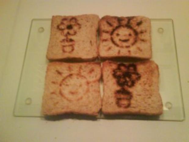 Abendbrot: Spiegeleier auf Toast - Rezept - Bild Nr. 3