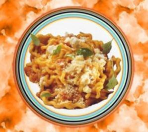 Rezept: Fusilli alla napoletana (Nudeln mit Tomatensauce)