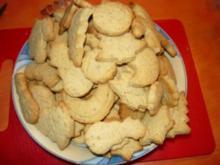 Haselnuss Kekse - Rezept