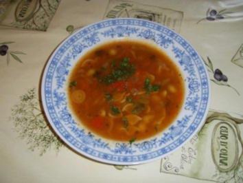 Tom Yum Suppe mit ohne Garnelen - Rezept