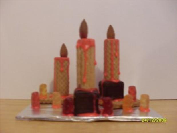 Essbare Kerzen - Rezept - Bild Nr. 2