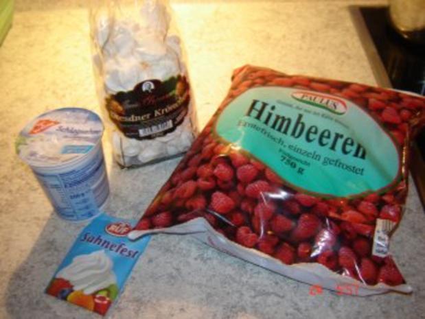 Himbeer-Baiser Sahne - Rezept - Bild Nr. 4