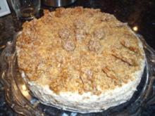 Krokant-Torte - Rezept
