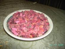 Heringssalat nach Hausfrauenart - Rezept
