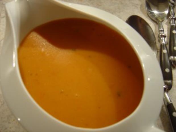 Lachs-Braten vom Schwein mit Käse und Tomaten - Rezept - Bild Nr. 9