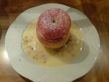 Saftiger Bratapfel - Rezept