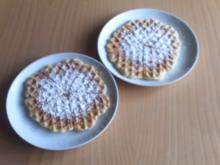 Buttermilch Waffeln - Rezept