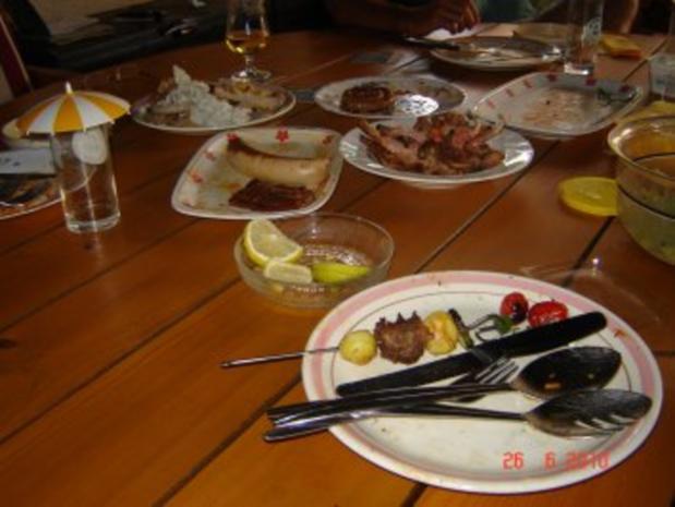 Fleisch :  Lammkarree in Balsamico-Rosmarin-Marinade - Rezept - Bild Nr. 8