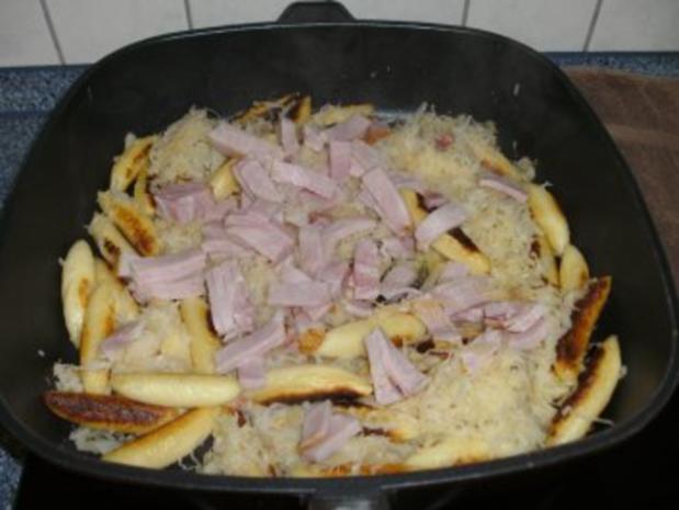 Schupfnudel-Sauerkrautpfanne - Rezept - Bild Nr. 2