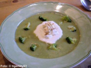 Brokkoli-Creme-Suppe - Rezept