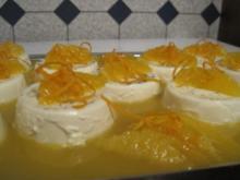 Panna Cotta mit Orangensauce - Rezept - Bild Nr. 2
