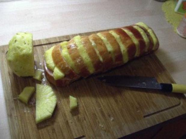 Kasseler mit Ananas - Rezept