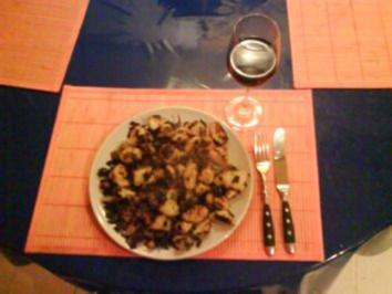 Kartoffeln: Kartoffelpfanne mit Lauch und Speck - Rezept