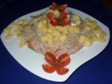 Drei-Käse-Wurstsalat - Rezept