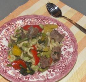 Gemüse - Rindfleisch -  Topf - Rezept