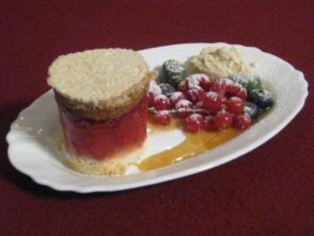 Geeiste Tiramisu-Törtchen - Rezept